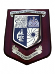 Directorate Of Forensic  Services Police Wall Plaque Shield